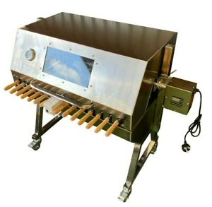 Large Cypriot BBQ Spit Rotisserie Hog Roast Machine in Stainless Steel
