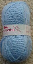 Robin Bonny Babe DK Soft Baby Double Knit Knitting Wool Yarn 100g Blue 1362