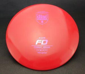 Discmania FD S-Line Disc Golf Fairway Driver 170g Originals, New Disc Golf Disc