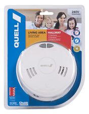 Quell Photoelectric Smoke Alarm 240V with Interconnect to other same units