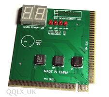 PC Computer Analyzer Diagnostic POST Test CARD PCI &ISA - UK seller