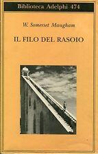 W. Somerset Maugham IL FILO DEL RASOIO ADELPHI 474