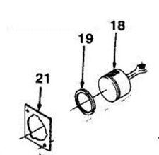 a01014d up07213 Piston & Rod kit w/head cylinder gasket Homelite HEDGE TRIMMER