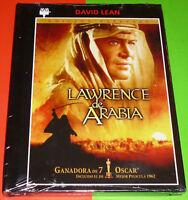LAWRENCE DE ARABIA - English Deutsch Español DVD R2 -DVD+LIBRO PRECINTADA