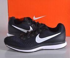 Nike Women's Size 10 MED Air Zoom Pegasus 34 Running Shoes Black/Wht 880560 001