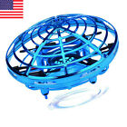 UFO Mini Drone Hand Operated Levitation LED RC Helicopter Flying Ball Toys Gift