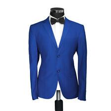 Regular Fit Herren Sakko Hell Blau-Anzug-Hochzeit-Blazer-Smoking-Jacket-U-24,26