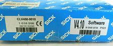 SICK CLV450-0010 *New Surplus* Laser Bar Code Scanner, PN# 1018556 Fixed Mount