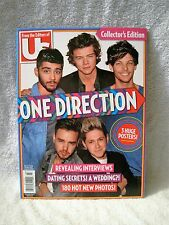 BRAND-NEW - US MAGAZINE - ONE DIRECTION - COLLECTOR'S EDITION MAGAZINE-3 POSTERS