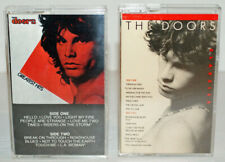 THE DOORS Lot of 2 Cassette Tapes, Greatest Hits & Classics