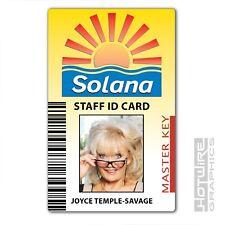 Plastic ID Card (TV Series Prop) - BENIDORM Solana PASS Joyce Temple Savage TV