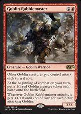 Goblin Rabblemaster x4 PL Magic the Gathering 4x Magic 2015 mtg card lot