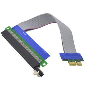 Cable extensión PCIe 16X 1X 19cm