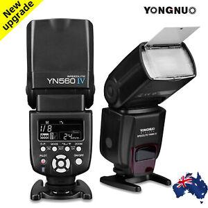 YONGNUO YN560 IV 2.4G Wireless Flash Light Speedite for Canon Nikon Camera A0P4