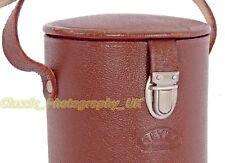 Leather Case 165x82mm Made by MEYER Optik Gorlitz for TELEMEGOR 5.5/180mm NIKKOR