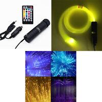 Car Roof Star Lights RGB LED Light Remote Bluetooth Control 300 Pcs Fiber Optic