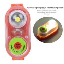 Lithium LED  Lampe Lumière Eau de mer Auto-éclairage pour gilet sauvetage