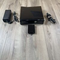 Microsoft Xbox 360 S Slim Gaming Console Black 250GB HardDrive w/ AC Power Cable