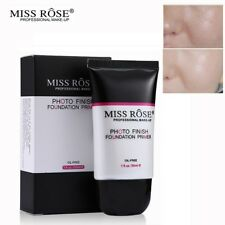 30ml Miss Rose poros invisibles base de Maquillaje hidratante primer aceite
