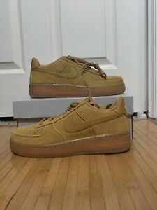 Nike Air Force 1 Low Wheat 2019 (GS)FREE SHIPPING!