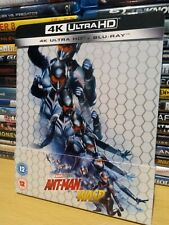 Ant-Man And The Wasp 4K UHD BLU RAY STEELBOOK UK Release NEW & UNSEALED