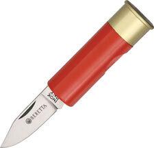 Beretta Shotgun Shell Knife Red Folding Knife 70-RD