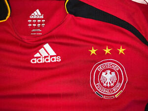 adidas GERMANY NATIONAL TEAM away jersey 2007-08 - XL - football soccer