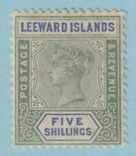 LEEWARD ISLANDS 8  MINT HINGED OG * NO FAULTS EXTRA FINE !