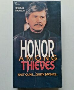 Charles Bronson HONOR AMONG THIEVES Movie VHS New Sealed Mntex Entertainment