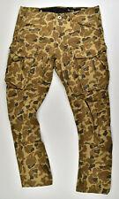 G-STAR RAW, Rovic Qane 3D Tapered, Cargohose LT Berber Camouflage Jeans W34 L32