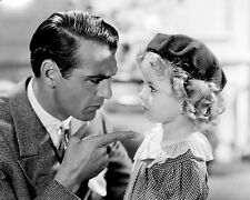 """GARY COOPER & SHIRLEY TEMPLE IN """"NOW AND FOREVER""""  8X10 PUBLICITY PHOTO (DA-028)"""