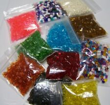 7pk Vintage Makit Bakit Crystals for Christmas Ornaments original 70s kids craft