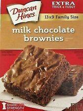 Duncan Hines Milk Chocolate Brownie Mix 18 Oz