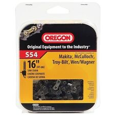 """Oregon 16"""" Semi Chisel Chain Saw Chain Fits McCulloch S54 (Discontinued by Manu)"""