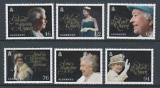 Alderney - 2018, 65th Anniversary of QEII Coronation set - MNH - SG A629/34