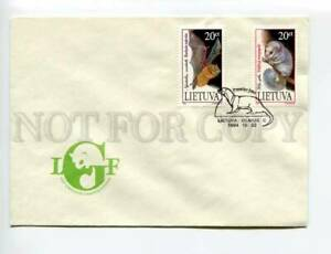 406609 Lithuania 1994 year BAT First Day COVER