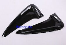 Gloss Black Side Marker Fender Air wing Vent Cover For BMW X5 F15 2015 2016 2017