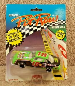 New 1992 Official Pit Row 1:43 Diecast NASCAR Dale Jarrett Interstate Batteries