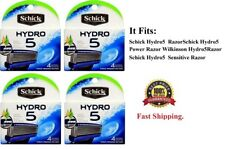 16 Schick Hydro 5 Refills Cartridges Blades fit Wilkinson Power Razor Shaver 4 8