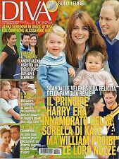 Diva 2016 2#Kate Middleton & Prince William,Michelle Hunziker,Katia Pedrotti,jjj