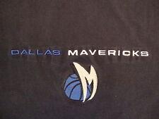NBA Dallas Mavericks National Basketball Association Blue Champion T Shirt XL