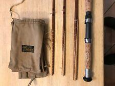 Sharpes Spliced 12´split cane #8-9 Salmon rod; Lachsrute, gespliesst