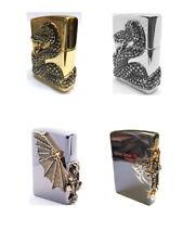 Zippo Snake Coil GD +Snake Coil NI +Gargoyle2 GDx2P +Side Tribal Cross GD +Gift