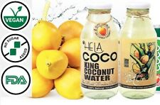 HELA Coco King Coconut Water One Box (2 bottles) 100% Natural Organic FDA-USA