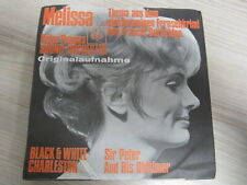 Single /  Peter Thomas Sound Orchester / Melissa  / DE PRESS / RAR /