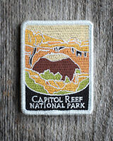 Capitol Reef National Park Souvenir Patch Traveler Series Iron-on Utah