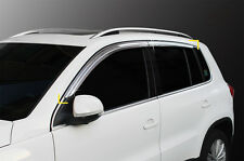 SAFE Chrome Weather shields for 2007 ~ 2017 Volkswagen Tiguan