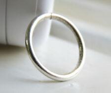 Body piercing in argento Calibro 18g (1 mm) Diametro 8mm