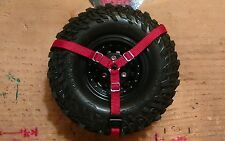 1/10 scale Spare Tire Strap, Crawler, Truck, Drift, available in 13 colors,