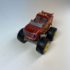 Fisher Price Nickelodeon Blaze and the Monster Machines Metallic Blaze DLH21